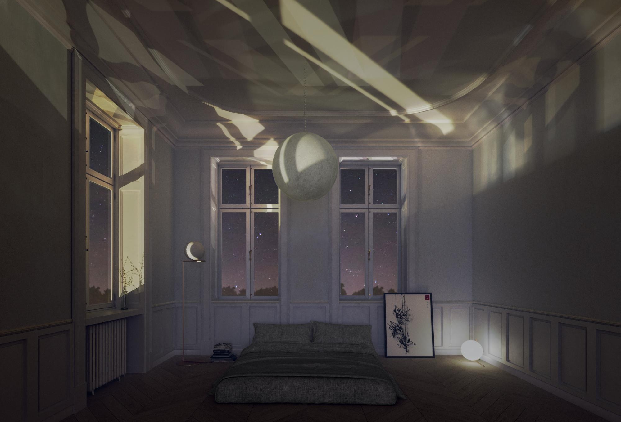 Moony – Rendering d'Interno