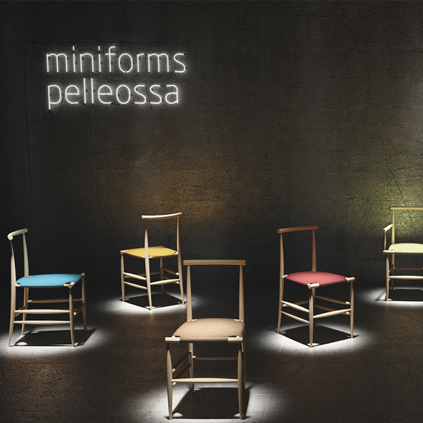 Pelleossa Chair, Miniforms