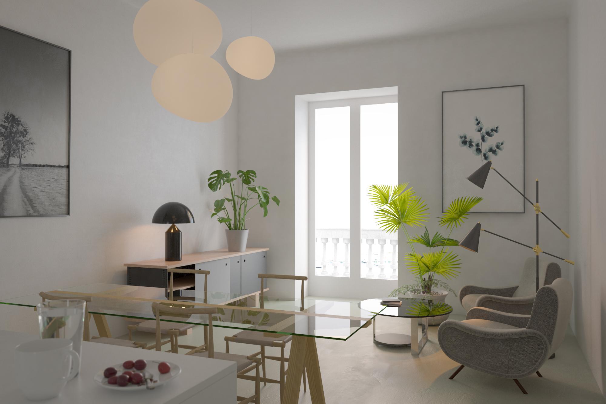 Apartment in Largo Adua, Bari