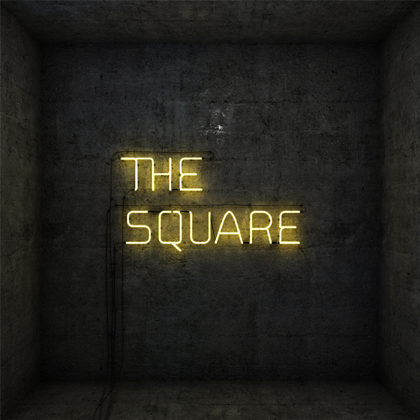 """The Square"",  Logo 3D Animato"