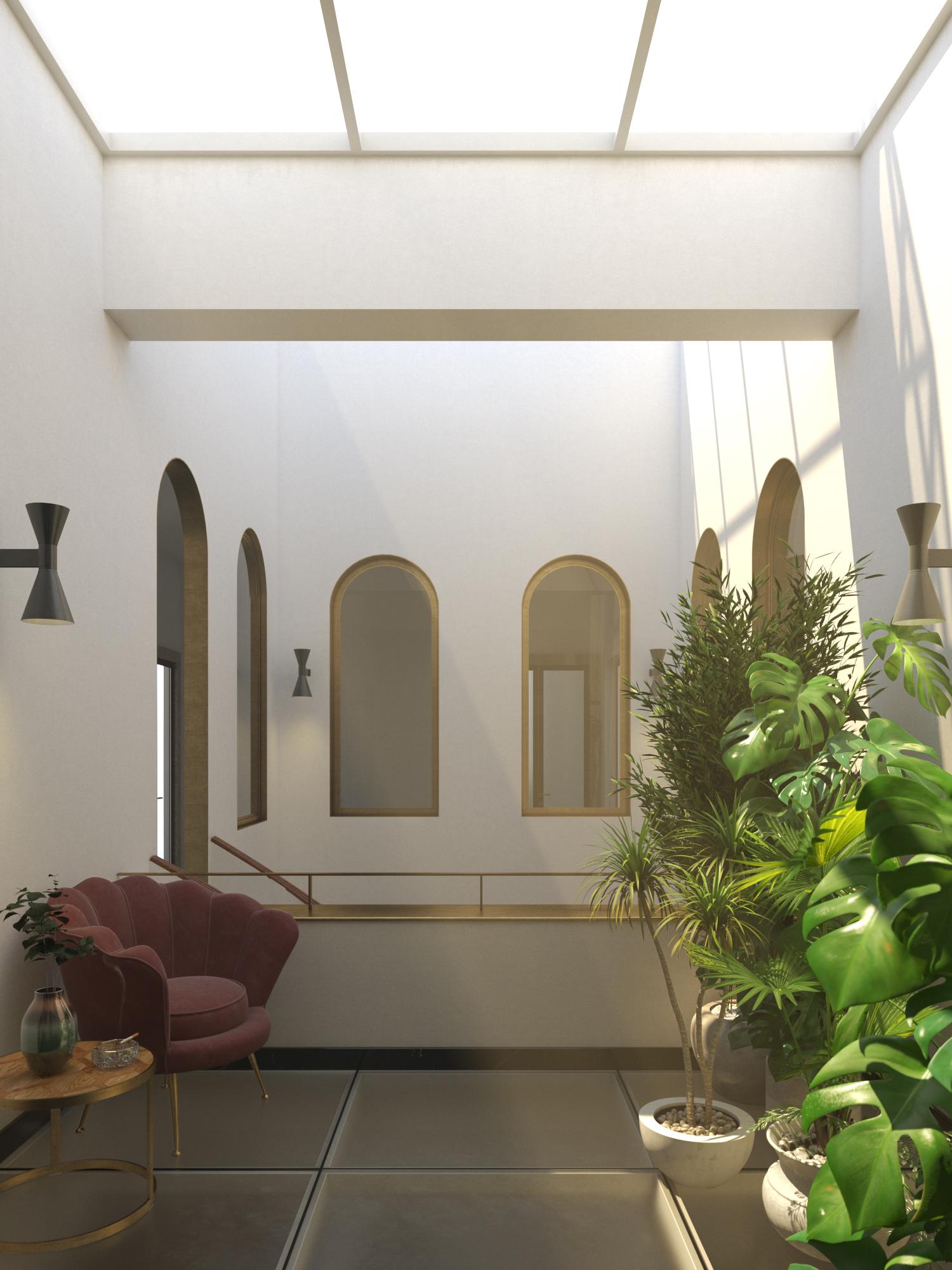 Cortile Interno Palazzo Mincuzzi, Bari